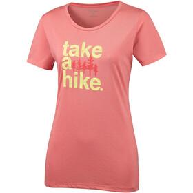Columbia Outdoor Ele***** III T-shirt Femme, coral bloom